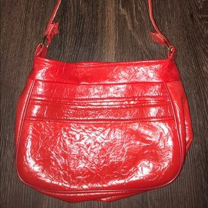 Bags - Vintage Red Patent Leather Purse